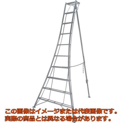 【代引き不可・配送時間指定不可】ピカ 三脚脚立GMF型 5尺 GMF150A