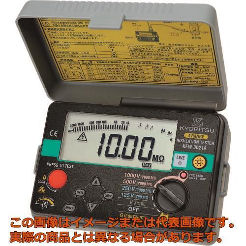 KYORITSU 3021A デジタル絶縁抵抗計 KEW3021A