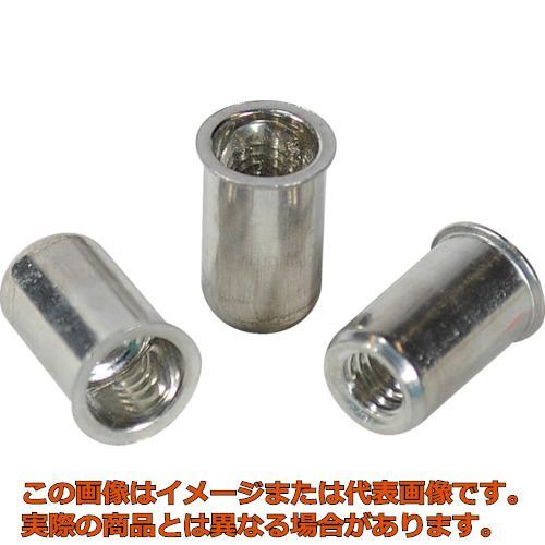 エビ ナット Kタイプ アルミニウム 6-3.2 (1000個入) NAK6M