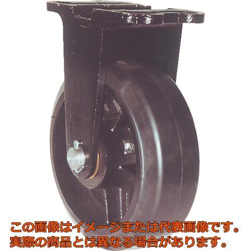 ヨドノ 鋳物重量用キャスター 許容荷重338.1 取付穴径13mm MHAMK150X75