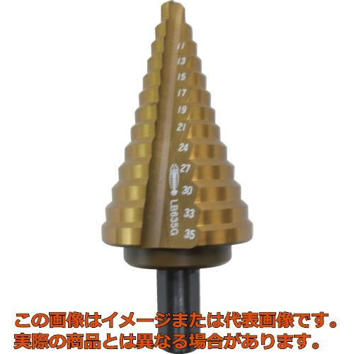 エビ ステージドリル コーティング 13段 軸径10mm LB635G
