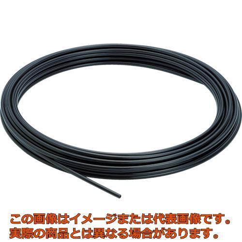 ピスコ ソフトナイロンチューブ 黒 12X9.0 100M NB1290100B