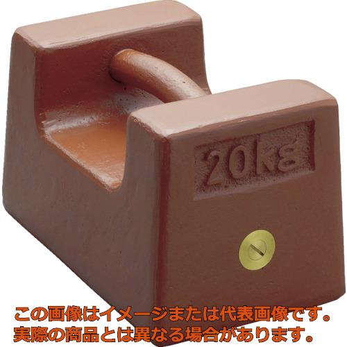 ViBRA 鋳鉄製枕型分銅 20kg M1級 M1RF20K
