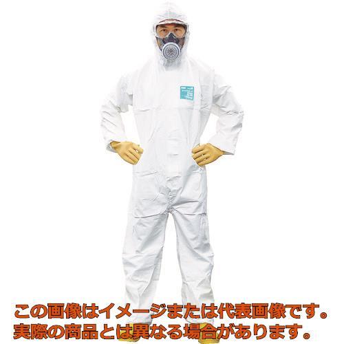 シゲマツ 使い捨て化学防護服 MG2000P M(10着入り) MG2000PM
