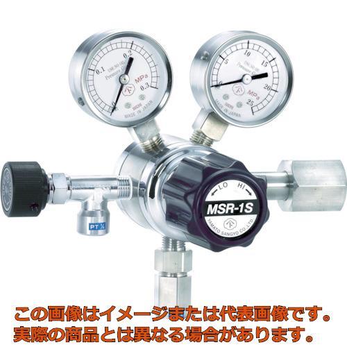 ヤマト 分析機用二段圧力調整器 MSR-1S MSR1S11TRC
