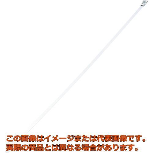 パンドウイット MS(バックルロック式)ステンレススチールバンド (50本入) MS4W38T15L4
