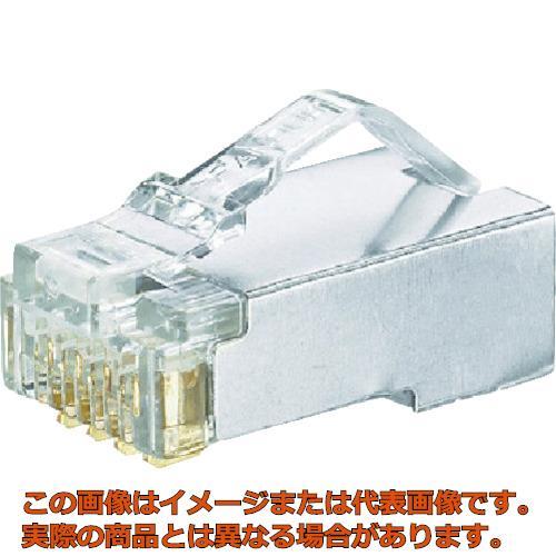 パンドウイット シールド付きモジュラープラグ LANコネクタ カテゴリ5E 100個入り MPS588-C MPS588C