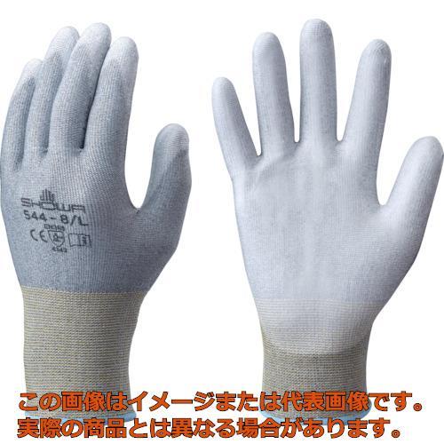 ショーワ 耐切創手袋 No544まとめ買い ケミスターパームFS No544 10双入 グレー Mサイズ NO54410PM