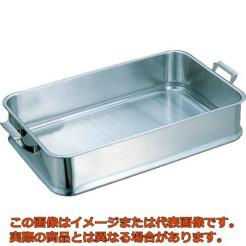 スギコ 18-8給食バット 手付 610×385×130 KB901