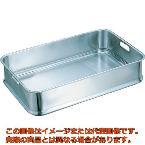 スギコ 18-8給食バット 手穴付 610×385×130 KB001