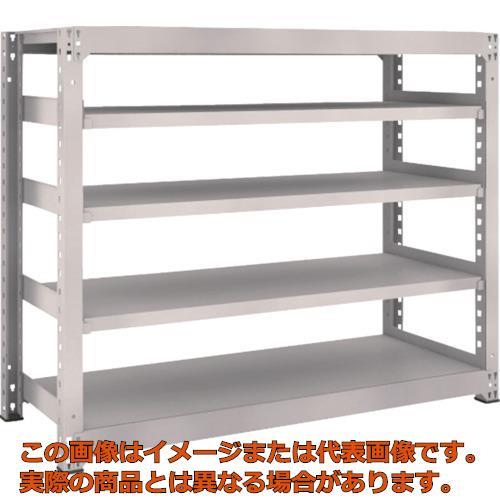 【送料無料キャンペーン?】 TRUSCO M5型中量棚 1500X571XH1200 5段 単体 ネオグレー NG:工具箱 店 M54565-DIY・工具