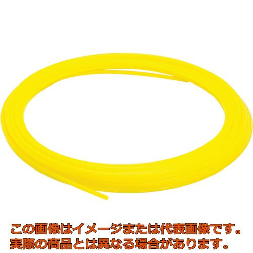 ピスコ ソフトナイロンチューブ イエロー 8×6 100M NB0860100Y