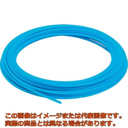 ピスコ ソフトナイロンチューブ ブルー 10×7.5 100M NB1075100BU