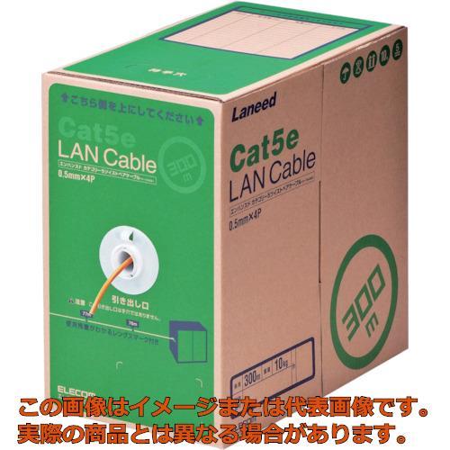 エレコム EU RoHS指令準拠LANケーブル CAT5E 300m オレンジ LDCT2DR300RS