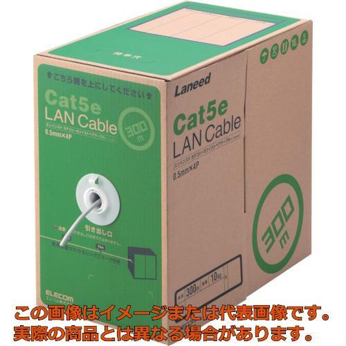 エレコム EU RoHS準拠LANケーブル CAT5E 300m ライトグレー LDCT2LG300RS