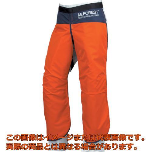 マックス Mr.FOREST 防護チャップス オレンジ Lサイズ MT536ORL