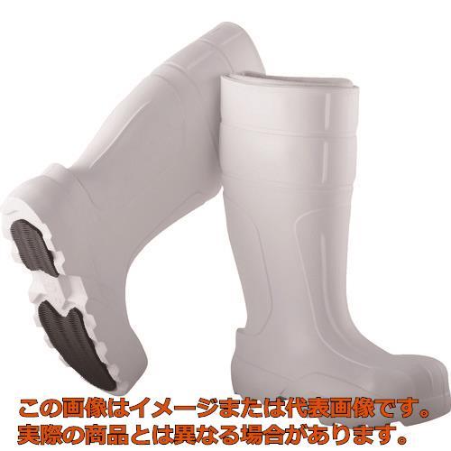 Camminare EVA防寒セフティブーツ Master ゴム底 28.5 ホワイト KMBW4728.5