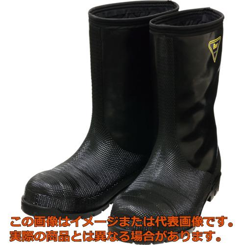 SHIBATA 冷蔵庫用長靴-40℃ NR041 29.0 ブラック NR04129.0