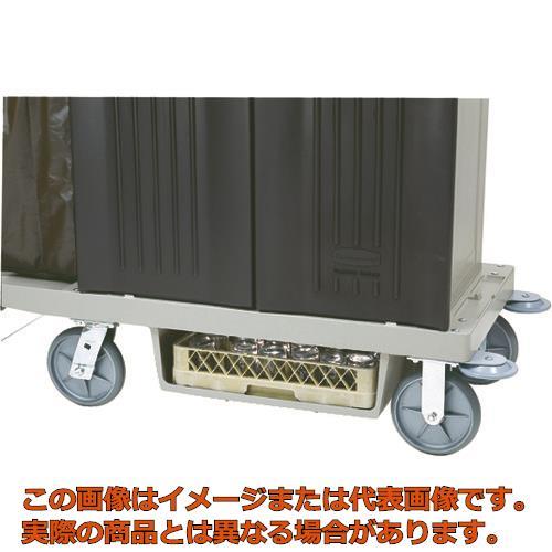 ラバーメイド ハウスキーピングカート用底面ラックキット プラチナ RM6196PT
