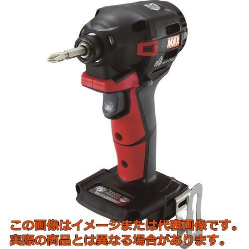 MAX 18V充電インパクトドライバ本体のみ(アカ) PJID152R