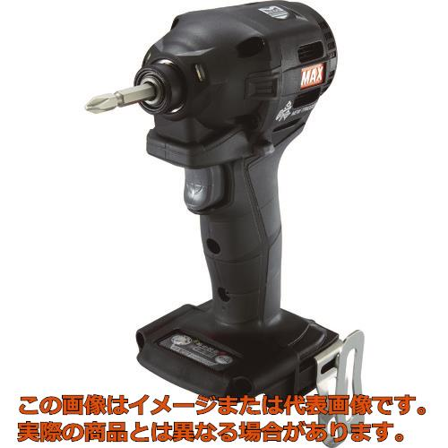 MAX 18V充電インパクトドライバ本体のみ(クロ) PJID152K