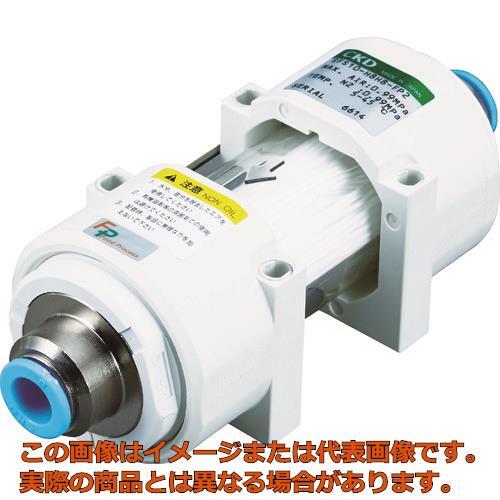 CKD 除菌フィルタ・インラインタイプΦ8チューブ継手付き SFS10H8H8FP2