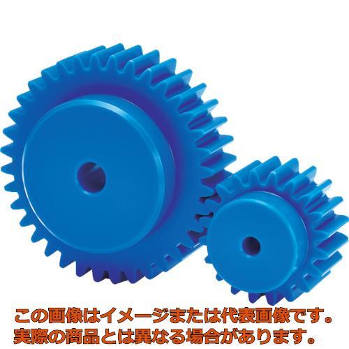 KG フードコンタクト 青POM ギヤシリーズ 平歯車 歯数35 形状B1 S3BP35B3016