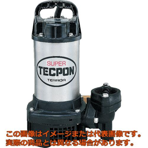 寺田 汚水用水中ポンプ 非自動 50Hz PG250T 50HZ