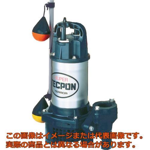 寺田 汚水用水中ポンプ  自動  60Hz PGA400T 60HZ