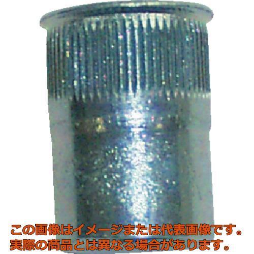 POP ポップナットローレットタイプスモールフランジ(M4) (1000個入) SFH425SFRLT