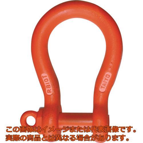 信頼 大洋 軽量捻込シャックル バウ 16t RBS16T:工具箱 店-DIY・工具