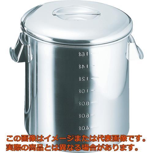 スギコ 18-8目盛付深型キッチンポット 内蓋式 300x300 SH4630D