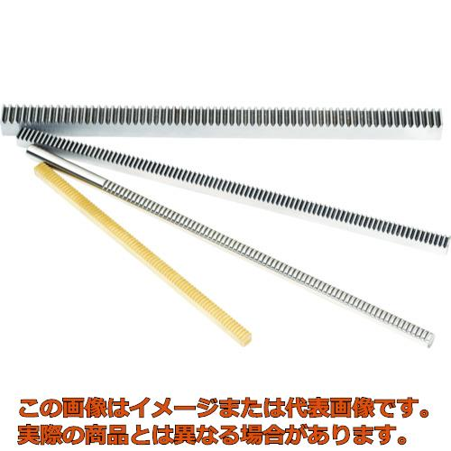 KG ラック 全長505~508mm 有効歯数212 歯幅8mm RK75SU50810