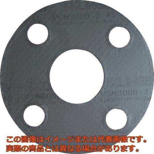 クリンガー 膨張黒鉛ガスケット(ステンレス爪付鋼板入り) 5枚入り PSM10K80A