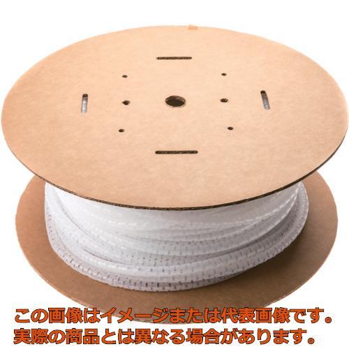 パンドウイット 電線保護チューブ スリット型スパイラル パンラップ 束線径28.6Φmm 15m巻き ナチュラル PW150F-L PW150FL