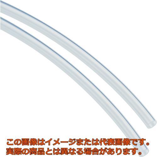 ピスコ フッ素樹脂(FEP)チューブ クリア 12×9mm 20M SET129020C