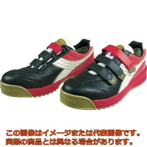 ディアドラ DIADORA 安全作業靴 ロビン 黒/白/赤 27.0cm RB213270