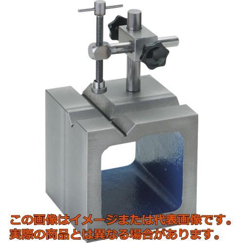 SK 鋳鉄製V溝付桝型ブロック 125mm SBV125T