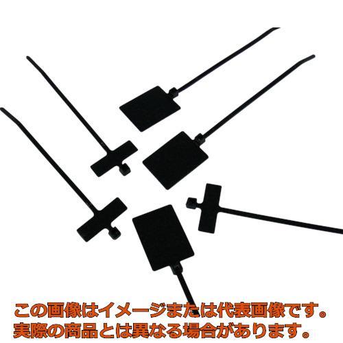 パンドウイット 旗型タイプナイロン結束バンド 耐候性黒 (1000本入) PLF1MAM0