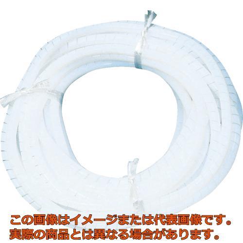 フロンケミカル フッ素樹脂(PTFE)スパイラルチューブ 14φ×16φ×10 NR0514006
