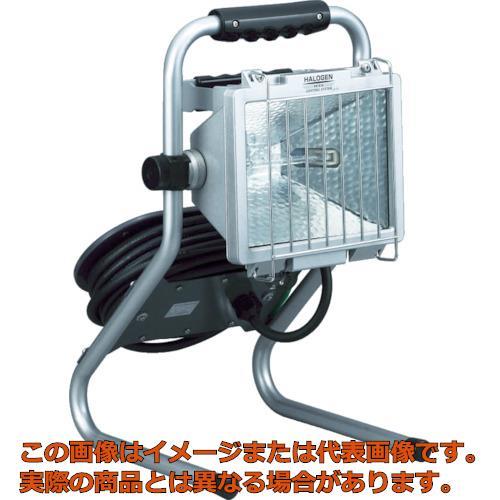 ハタヤ 防雨型ドラムスタンドハロゲンライト 300W 100V電線7m PHD307N