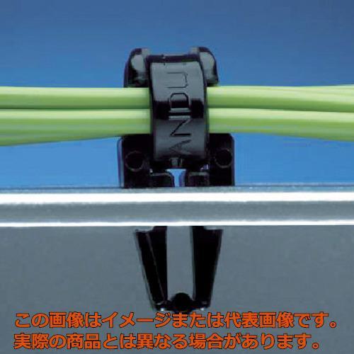 パンドウイット 押し込み型固定具 耐候性黒 (1000個入) PM2H25M0