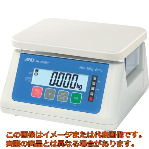 A&D デジタル防水はかり 30Kg SH30KWP