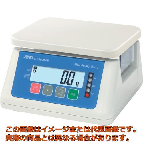 A&D デジタル防水はかり 6000g SH6000WP