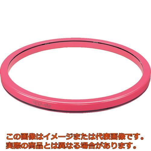【代引き不可・配送時間指定不可】 タイユー 回転台マワール エコノミータイプ ピンク 500kg 直径800mm PTE-80 (ピンク)