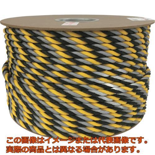 ユタカメイク 反射標識ロープ 12φ×100m PRYH2