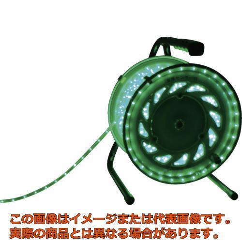 日動 LEDラインチューブドラム緑 RLL30SG