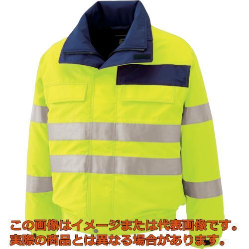 ミドリ安全 高視認性 防水帯電防止防寒ブルゾン イエロー L SE1134UEL