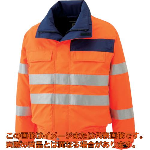 ミドリ安全 高視認性 防水帯電防止防寒ブルゾン オレンジ 3L SE1135UE3L