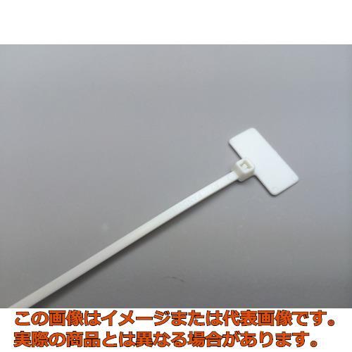 パンドウイット 旗型タイプナイロン結束バンド 白 (1000本入) PLF1MM10